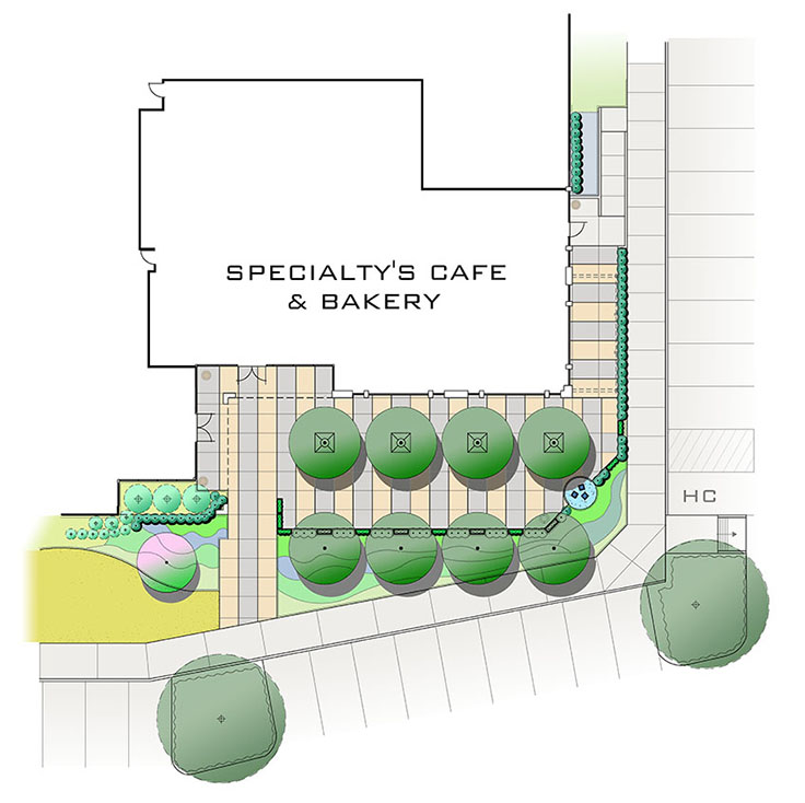 Specialty Café and Bakery